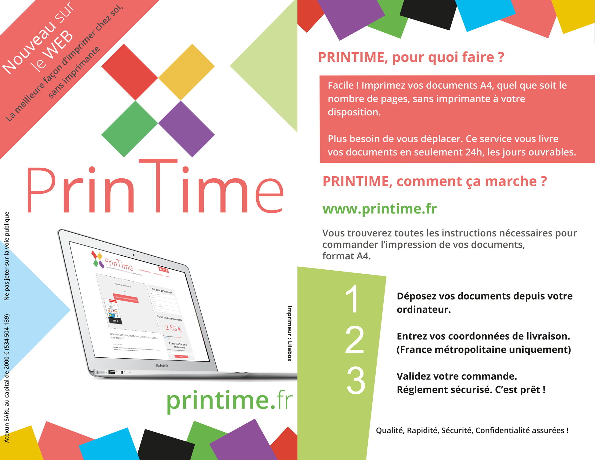 logo Printime impression documents en ligne